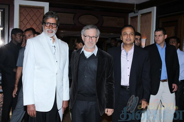 Stars Celebs Meet Hollywood Director Steven Spielberg Photos