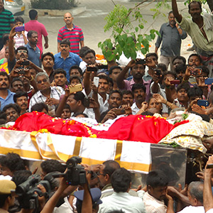 MS Viswanathan body cremated
