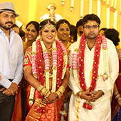 Director KS Ravikumar Mallika - Arjun krishnan Marriage Photos