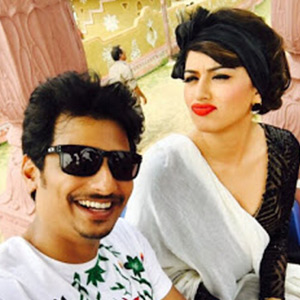 Pokkiri raja shooting spot stills